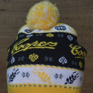 Coopers Licensed Beanie Yellow/White/Black
